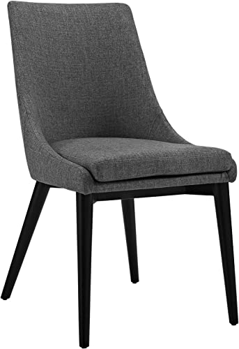 Modway Viscount Mid-Century Modern Upholstered Fabric Kitchen and Dining Room Chair
