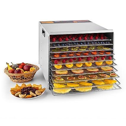 Klarstein Fruit Jerky Pro 10 • Desecadora • Deshidratadora • 10 Pisos • Bandejas extraibles •
