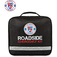 $24 » 62 Piece Safety Roadside Assistance Kit - All-in-One Car First Aid Emergency Kit Roadside…
