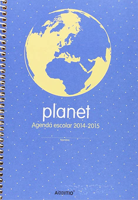 Amazon.com : 5 Star A122 - Agenda Planet A5 SV Spanish, 1 ...
