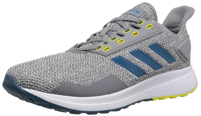 Zapatillas de corriendo Adidas Duramo 9 hombres b077xhk1yx D (m) usgrey / real