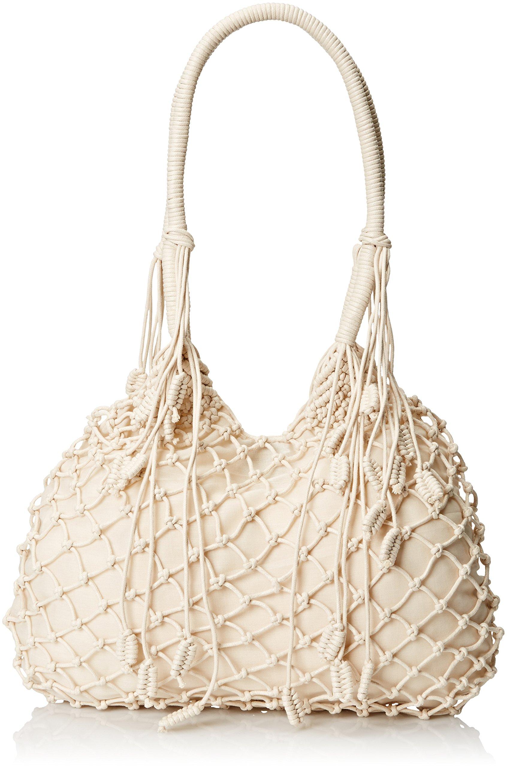 Gottex Women's Seine Cotton Crochet Bag, Ivory, One Size