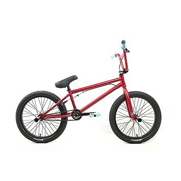 Amazon.com : KHE Bikes Evo 0.1 Freestyle BMX Bicycles, Red : Sports ...
