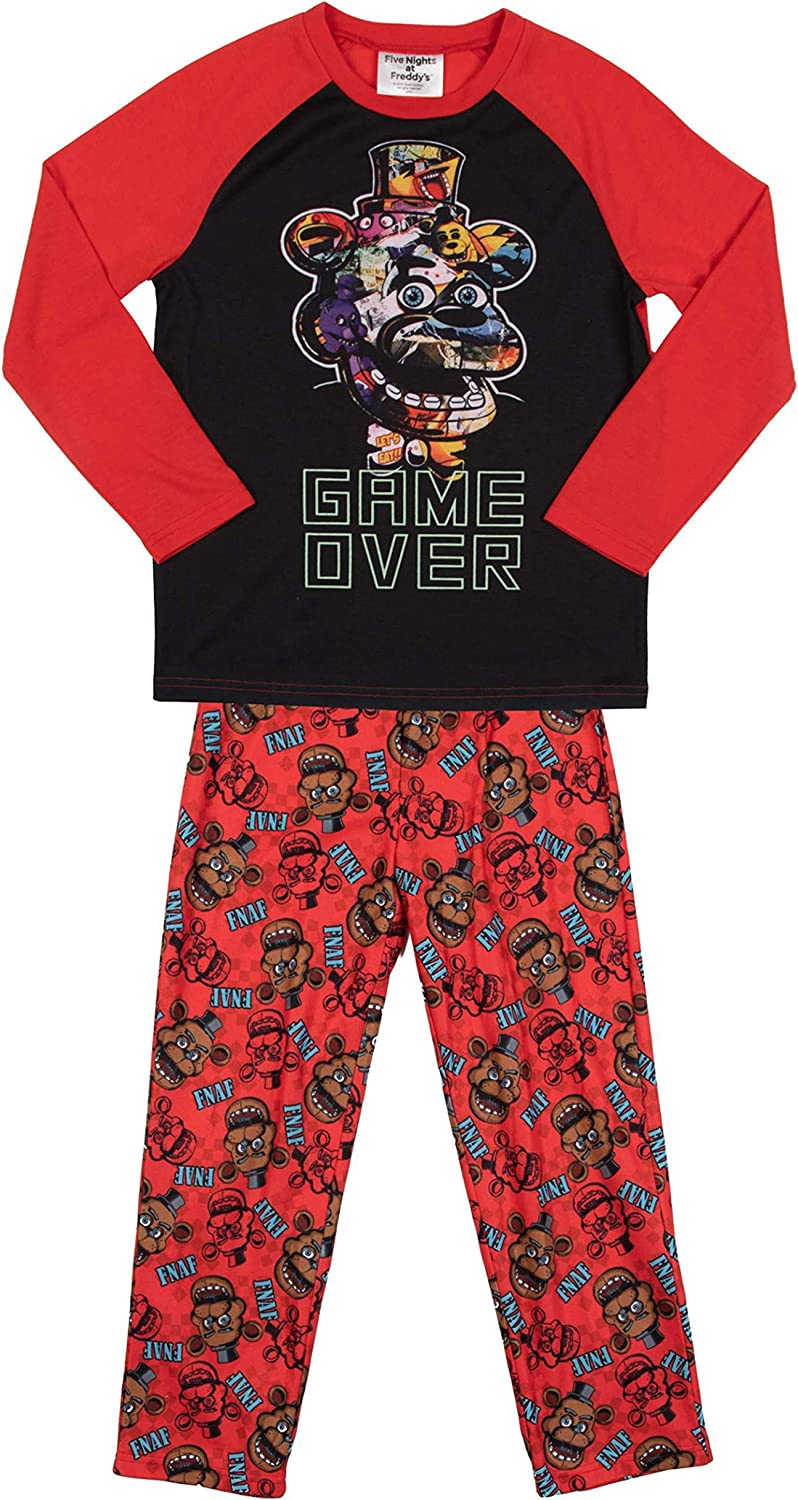 FIVE NIGHTS AT FREDDYS Boys FNAF Pajamas