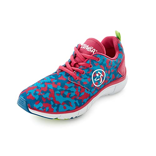 b8a41d3b8c910 Zumba Women s Fly Fusion Athletic Dance Workout Sneakers with ...