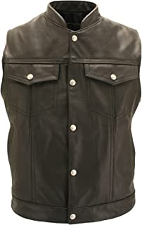 product image for Sons of The Anarchy Leather Vest - Made in USA