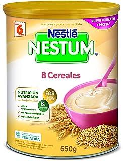 Nestlé Papillas NESTUM, Cereales para bebé, 3 de 650 gr -Total 1950 gr