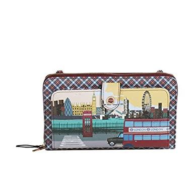 Parfois - Cartera London To Paris - Mujeres - Tallas Xxl - Rojo: Amazon.es: Ropa y accesorios