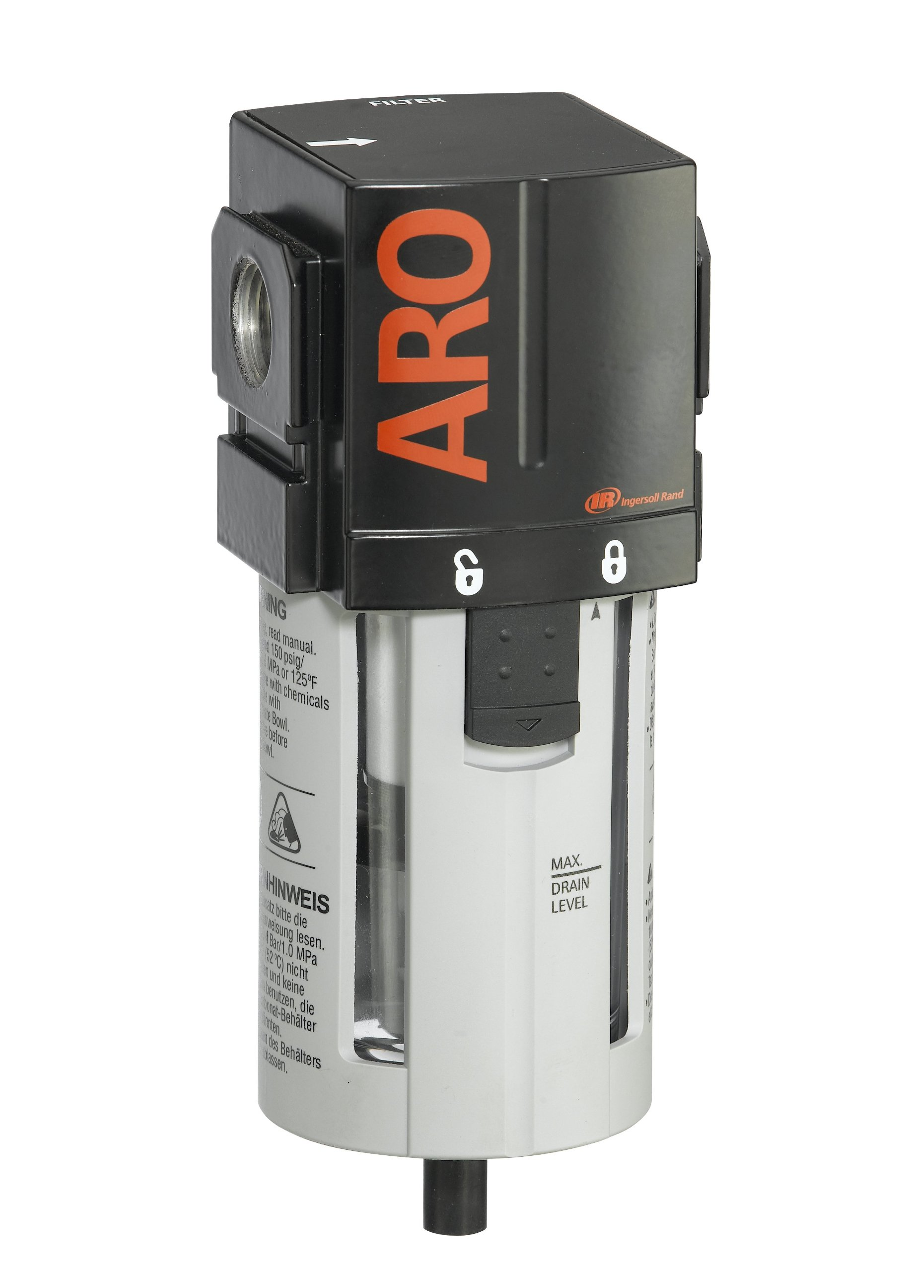 ARO F35341-400-VS Air Line Filter, 1/2'' NPT - 150 psi Max Inlet