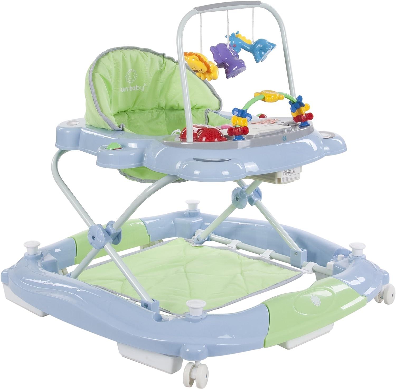 Sun Baby Rocker Bear - Andador para bebé, color verde y azul ...