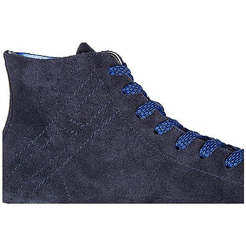 Hogan Rebel Scarpe Sneakers Alte Uomo in camoscio Nuove r141 Hi Top Blu EU  40.5 HXM1410Q402FFY090S  Amazon.it  Scarpe e borse ff977105e17
