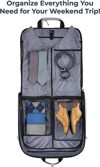 ZEGUR Funda para ropa para 3 trajes o vestidos ideal como equipaje ...