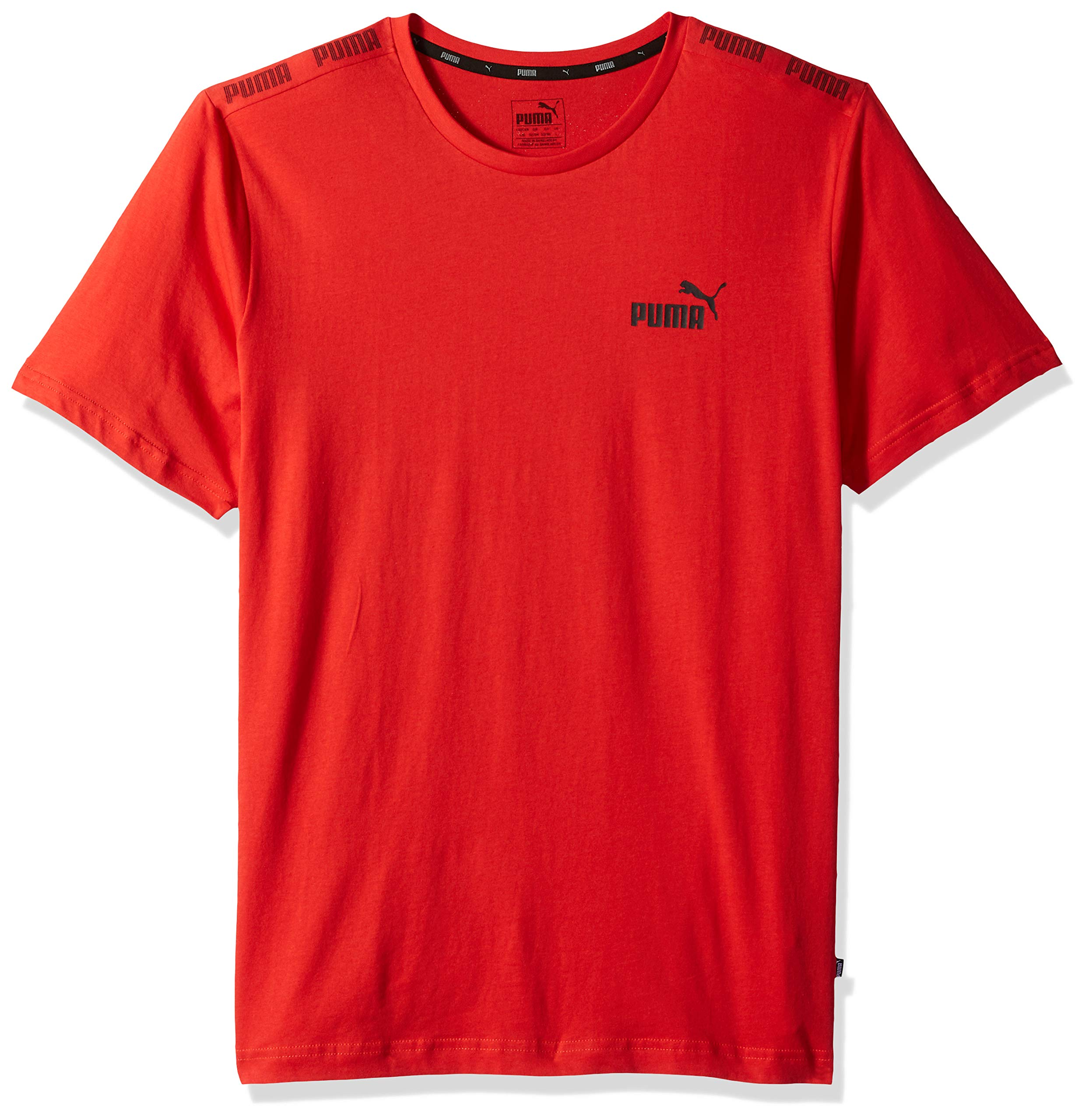 PUMA Men's Amplified TEE, high Risk red S