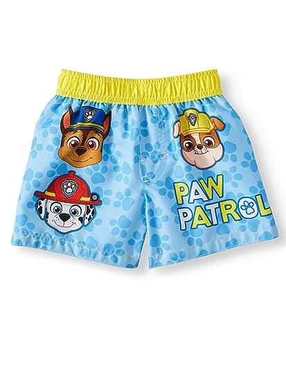 Infant Boys Paw Patrol Blue Swim Short Trunk