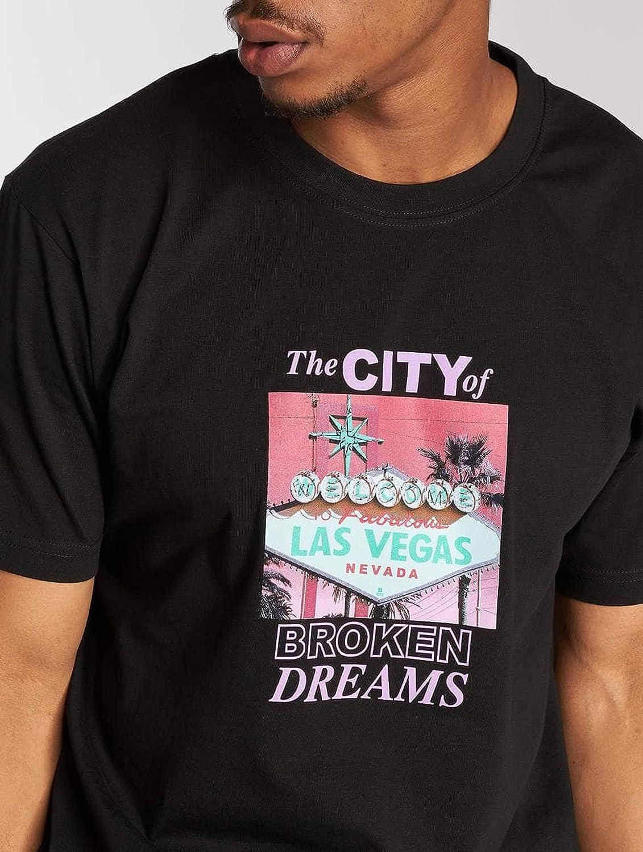Homme Mister Tee Broken Dreams Tee T-Shirt