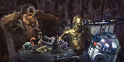 Image result for let the wookie win