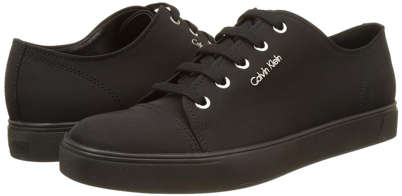 Herren Napoleon Nylon Sneakers, Schwarz (Blk), 45 EUCalvin Klein