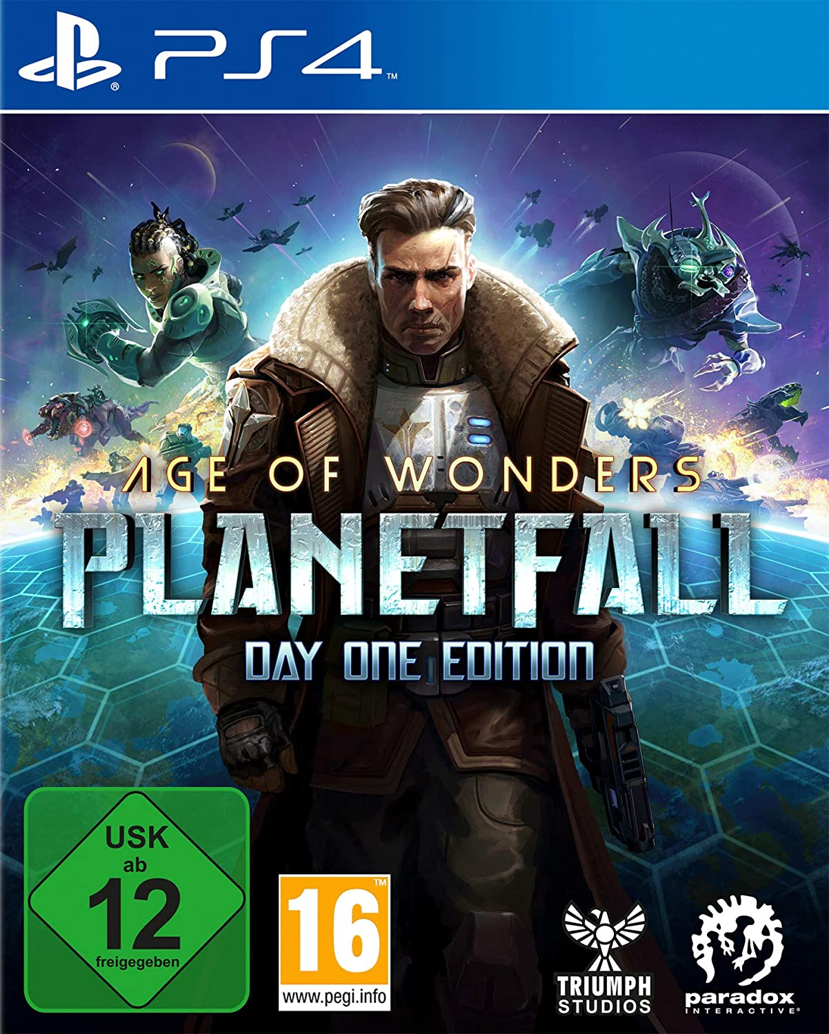 Age of Wonders Planetfall PS4