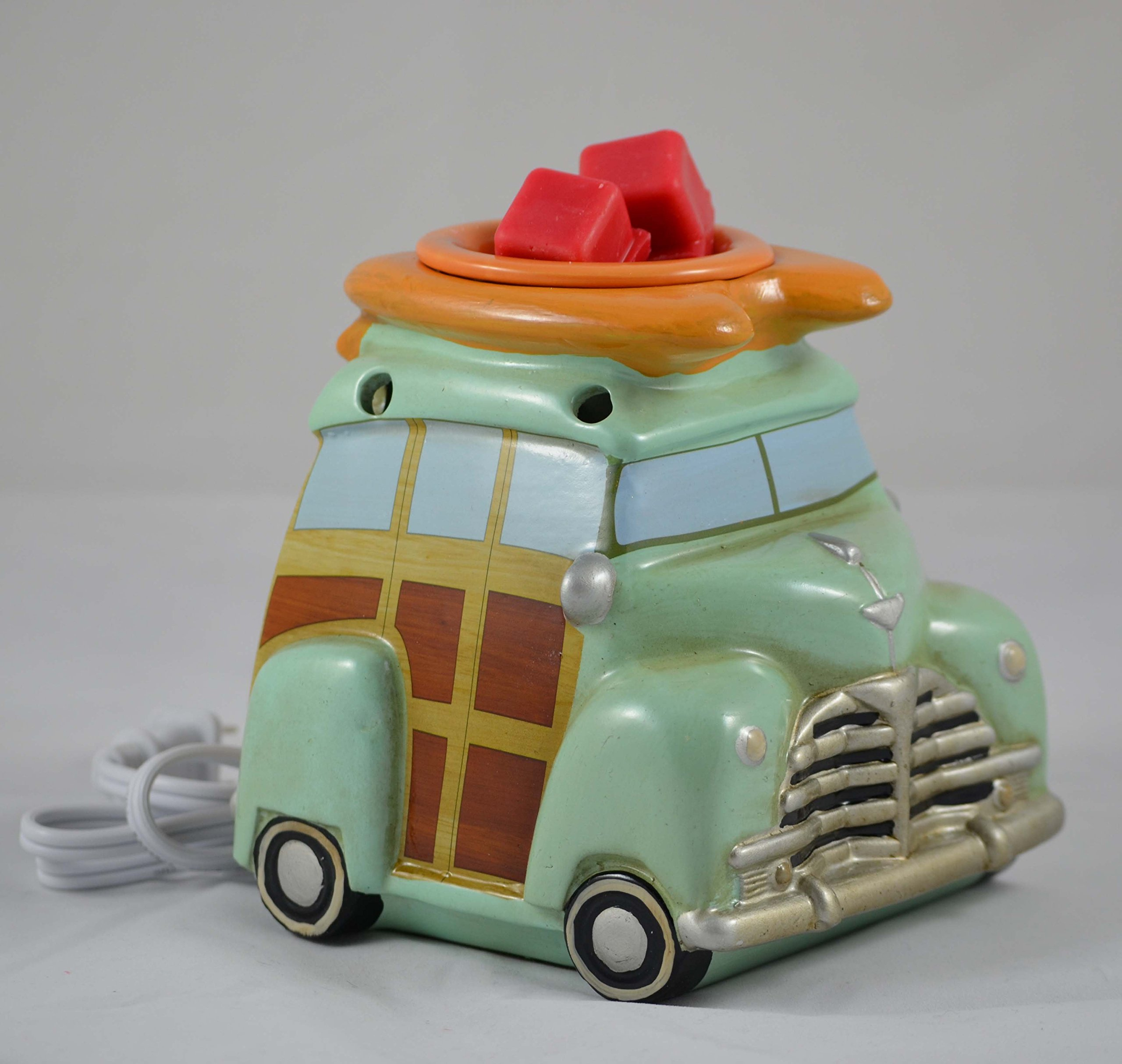 Scentsationals Retro Collection-Surf Woody Wagon - Scented Wax Cube Warmer by ScentSationals (Image #1)