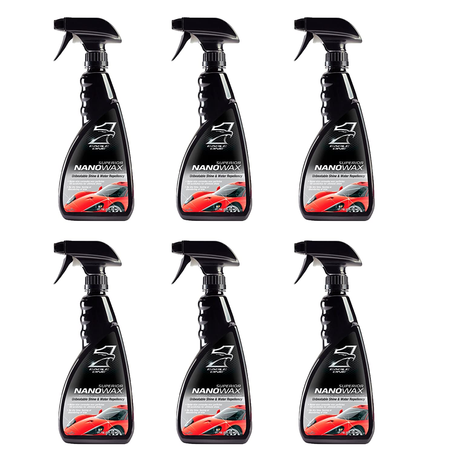 Amazon.com: Eagle One836609-CASE Superior Nano wax - 23 oz, (Case of 6): Automotive