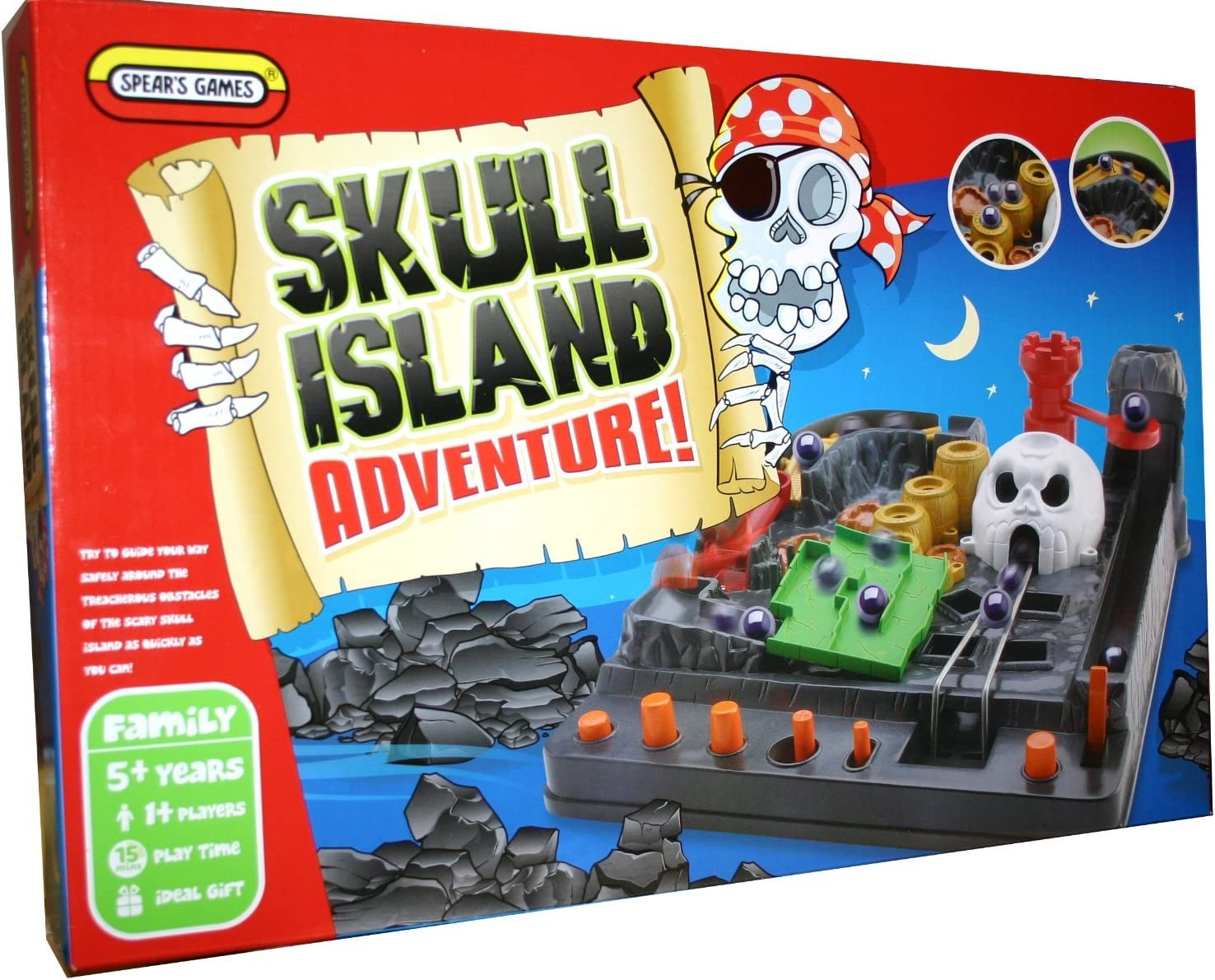 Skull Island Adventure Game as seen on TV by Spears Games: Amazon.es: Juguetes y juegos