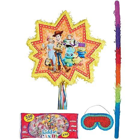Amazon.com: Party City - Piñata de juguete con cuerda (4 ...