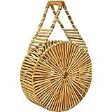 MadeTerra Bamboo Handbags & Purses   Wooden Summer Beach Tote & Clutch Bags for Women