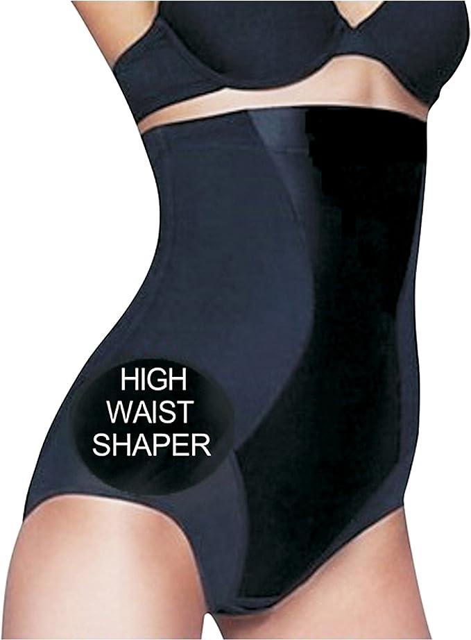 WOMENS BEAUFORME SHAPEWEAR FIRM CONTROL HIGH WAIST SHAPER P022A BLACK OR NUDE
