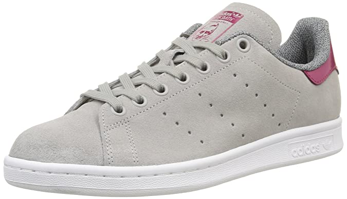 adidas Stan Smith, Women's Low Rise Hiking Shoes, Grey (MGH Solid Grey/MGH  Solid Grey/Berry F15-ST), 4 UK (36.5 EU): Amazon.co.uk: Shoes & Bags