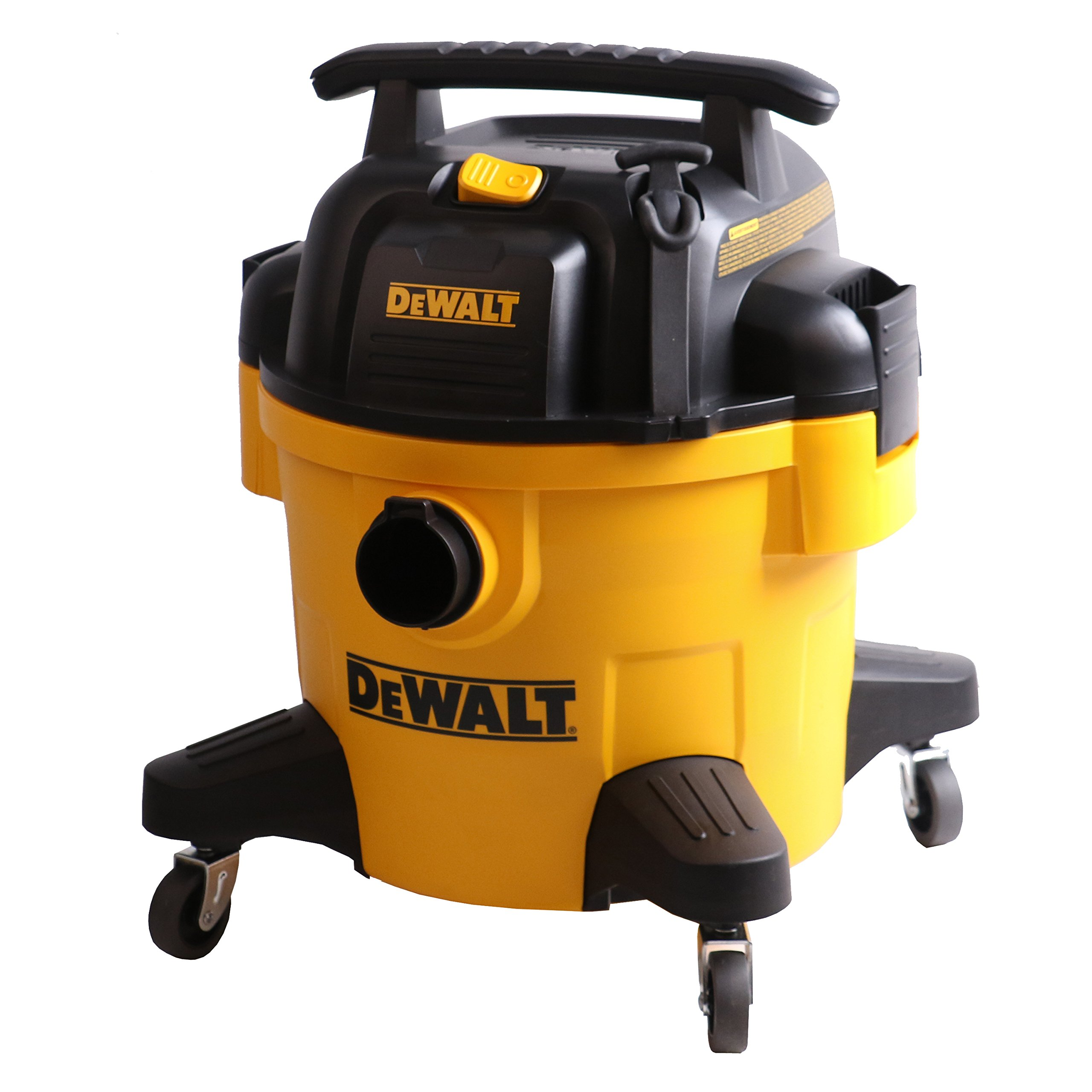 DeWALT 6 Gallon Poly Wet/Dry Vac