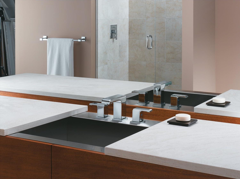 Delta 3586LF-MPU Arzo Two Handle Widespread Bathroom Faucet, Chrome ...