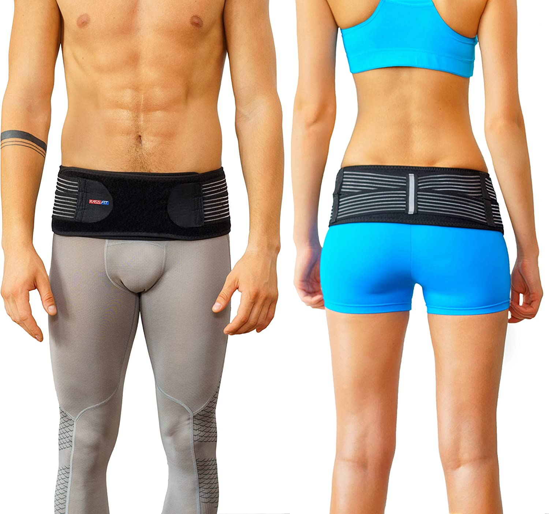 Sacroiliac Joint Brace SI Belt to Relieve Leg/Sciatica Nerve Pain, Lower Back Pain