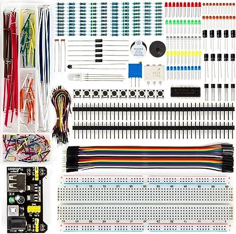 Elektronik Programmierbar Steckbrett Bausatz Starter Kit für Arduino Zubehör DE