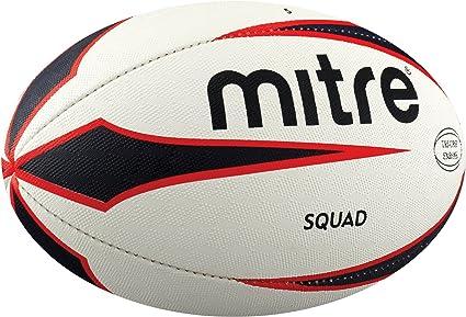 Mitre Squad 4 BB2104 - Pelota de Rugby (Talla 4, Entrenamiento ...