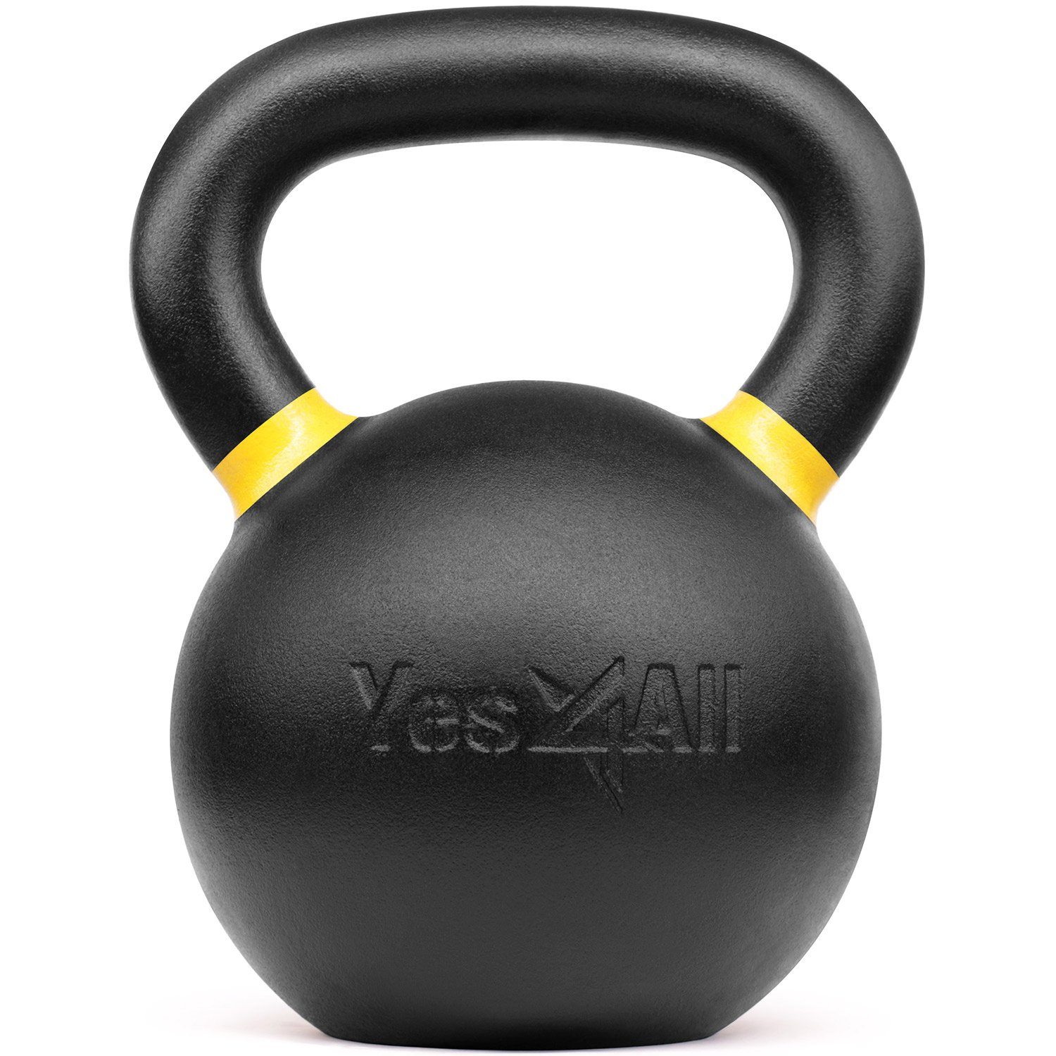 Yes4All Powder Coat Kettlebells 4, 6, 8, 10, 12, 14, 16, 20, 24, 32, 40kg