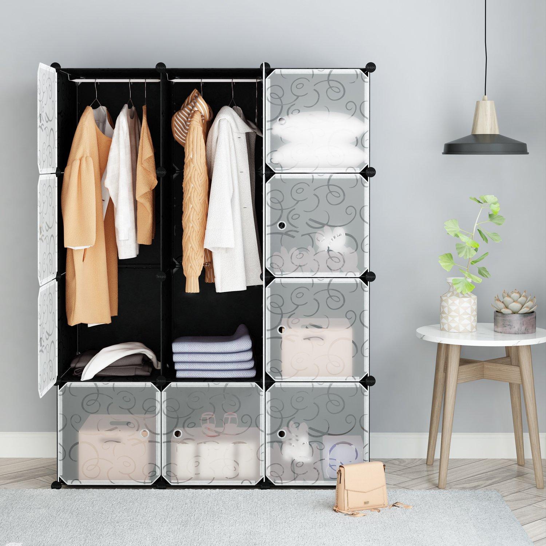 closets jl deep organizer with deluxe jlh home john louis drawer closet l system doors wood