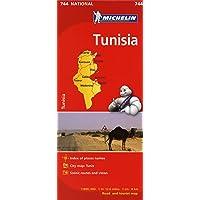 Tunisia Road Map 1:800,000 Michelin 744