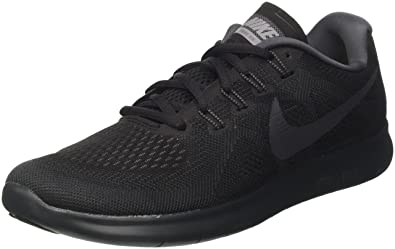 reputable site bb9c4 35c13 Nike Womens Free Rn 2017 Running Shoes , BlackAnthracite-Dark Grey-Cool
