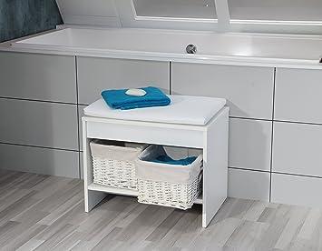 Sitzbank Bad fackelmann badhocker relax sitzbank fürs bad badmöbel maße