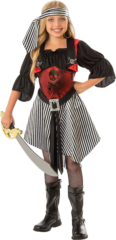 Crimson Pirate Girls Costume