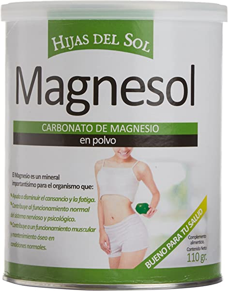 Ynsadiet Magnesol Carbonato de Magnesio - 110 gr: Amazon.es ...
