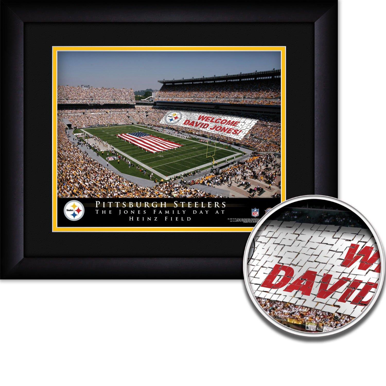 Foto archivo Pittsburgh Steelers nfl estadio de fútbol Tarjeta - con ...
