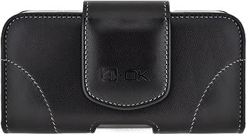 4-OK U-Line - Funda horizontal con pinza y pasador cinturón para ...