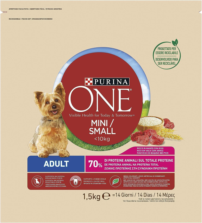 ONE - My Dog is Adult - Comida para Perros con Carne de Vaca ...