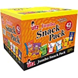 Utz Snack Variety Pack (Pack of 42) Individual Snacks, Includes Potato Chips, Cheese Curls, Popcorn, and Party Mix, Crunchy T