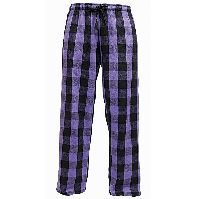 Boxercraft - Pantalones de pijama de Franela Moda invierno hombre caballero (Pequeña (S)