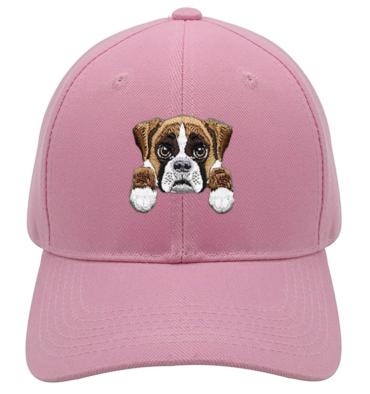 02a3b981beb Boxer Dog Hat Cute Puppy Adjustable Cap Hats