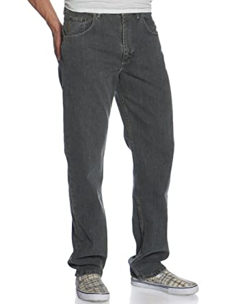 060e2cab Genuine Wrangler Men's Relaxed Fit Jean at Amazon Men's Clothing store: