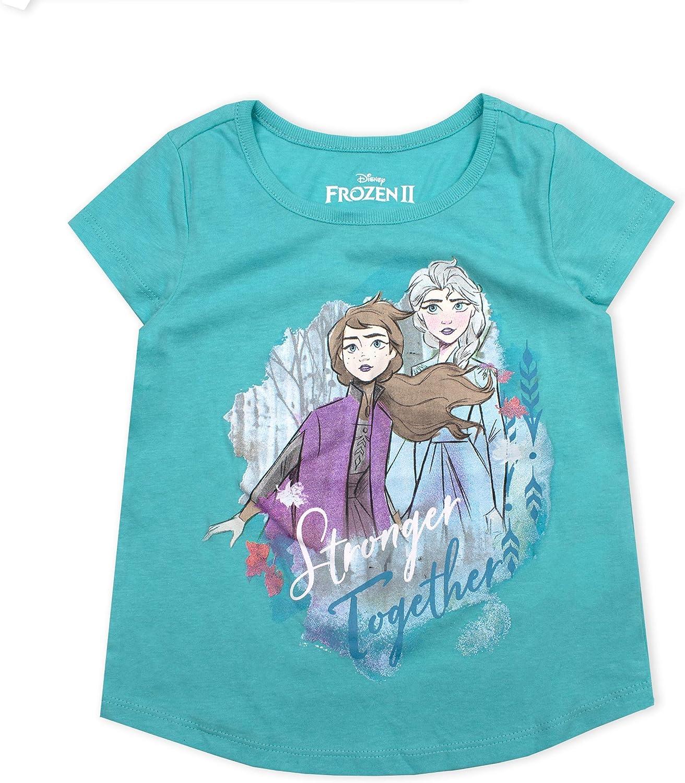 Disney Frozen T-Shirts mit verschiedenen Motiven Anna /& Elsa NEU OVP