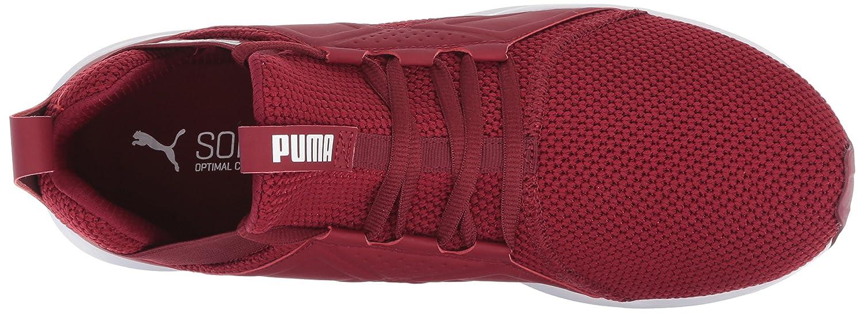 Puma Enzo Weave Weave Weave - Zapatillas para Hombre, Pomegranate-puma Blanco, 8.5 M US f9b237